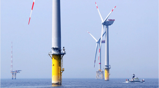 European countries have hundreds of wind turbines
