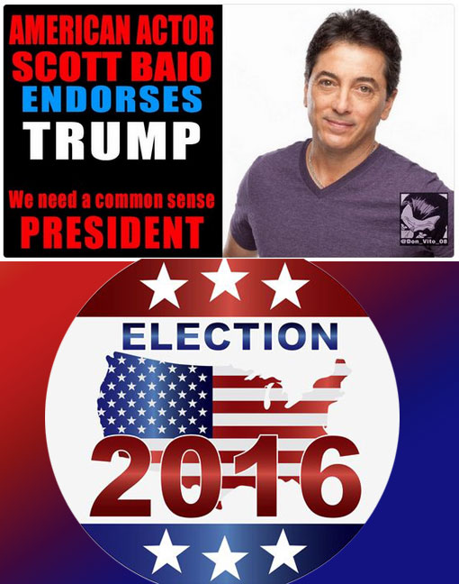 actor Scott Baio endorses Donald Trump