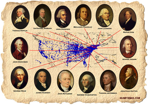 The Founding Fathers of the United States of America