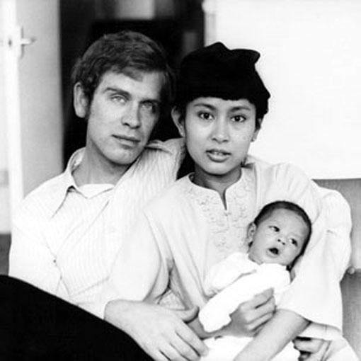 Aung San Suu Kyi and family