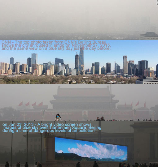 Beijing issues its first red alert as air pollution hits hazardous levels
