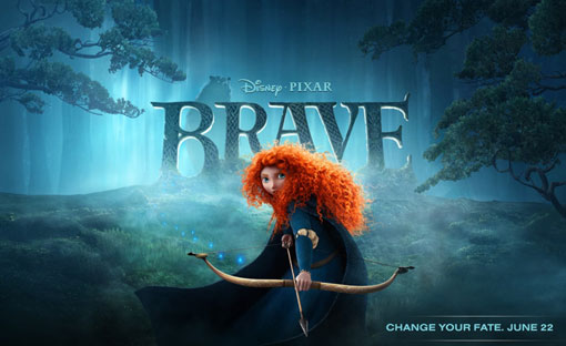 Pixar's Brave: a fairy tale about an archery-loving Scottish princess