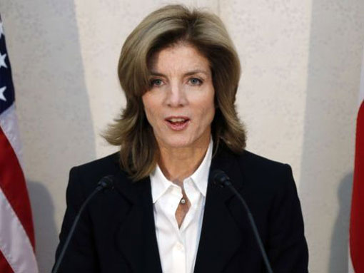 U.S. Ambassador to Japan Caroline Kennedy called an annual Japanese dolphin hunt inhumane