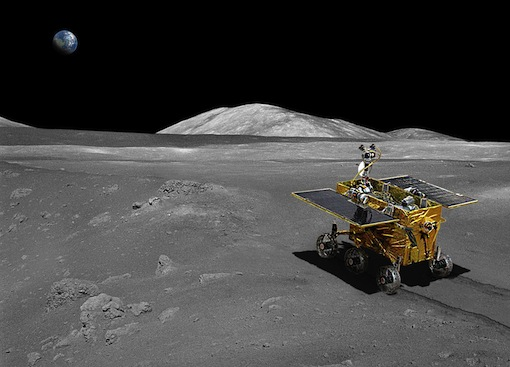 Chinese Moon Rover Yu Tu (Jade Rabbit)