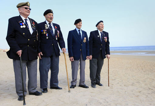 WWii Normandy British veterans