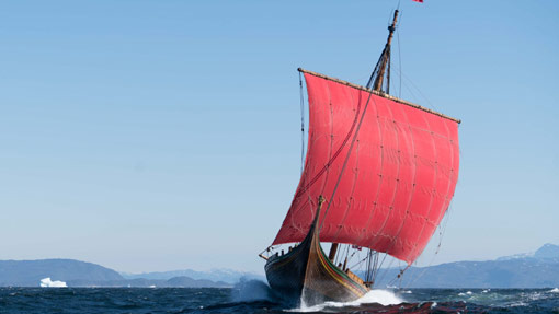 Draken Harald Hårfagre leaves Greenland