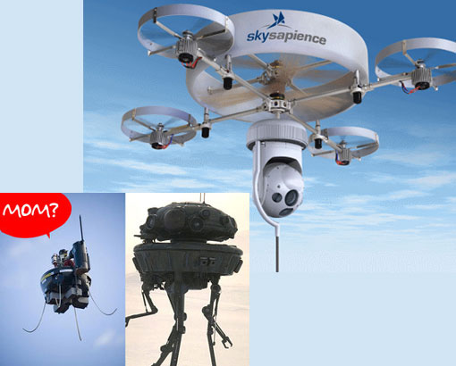 Gizmodo: 'Spy Drones coming soon'
