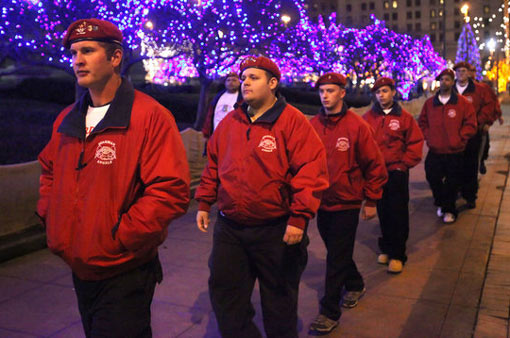 Guardian Angels: volunteers go on patrol nearly every day, watch out for trouble, break up fights and deter crime