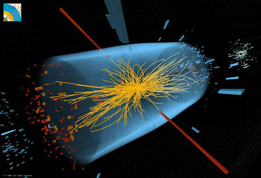 CERN illustration: experiment to find Higgs Boson