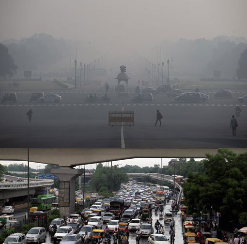 Delhi is now the world's dirtiest city, surpassing Beijing for air pollution limit