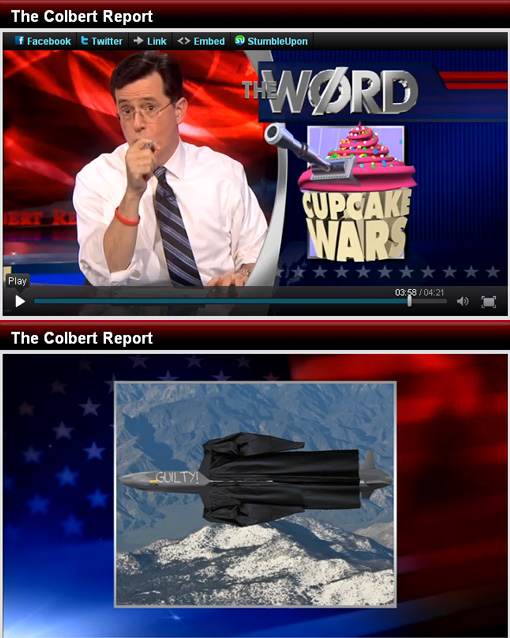 Colbert Report: The Word – Due or Die