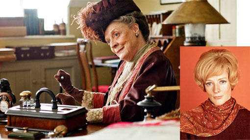 Violet Crawley dowager countess
