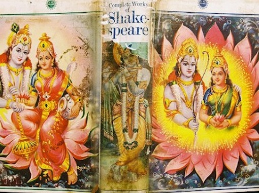 The Robben Island 'Complete Works of Shakespeare' was disguised in Diwali cards.