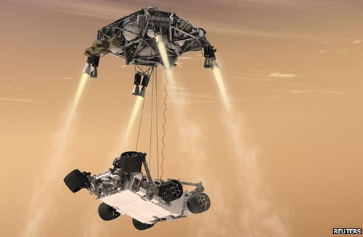 NASA Mars rover Curiosity schedules to touch down on August 6 2012