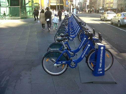 melbourne bike hire