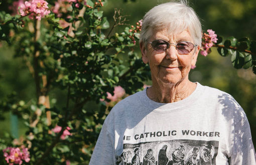 Sister Megan Rice, 82, is one of three people arrested in a break-in at a nuclear complex in Oak Ridge, Tenn
