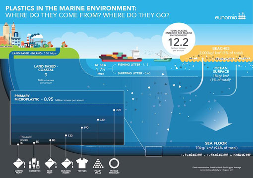 plastics in the marine environment: where do they come from? where do they go?