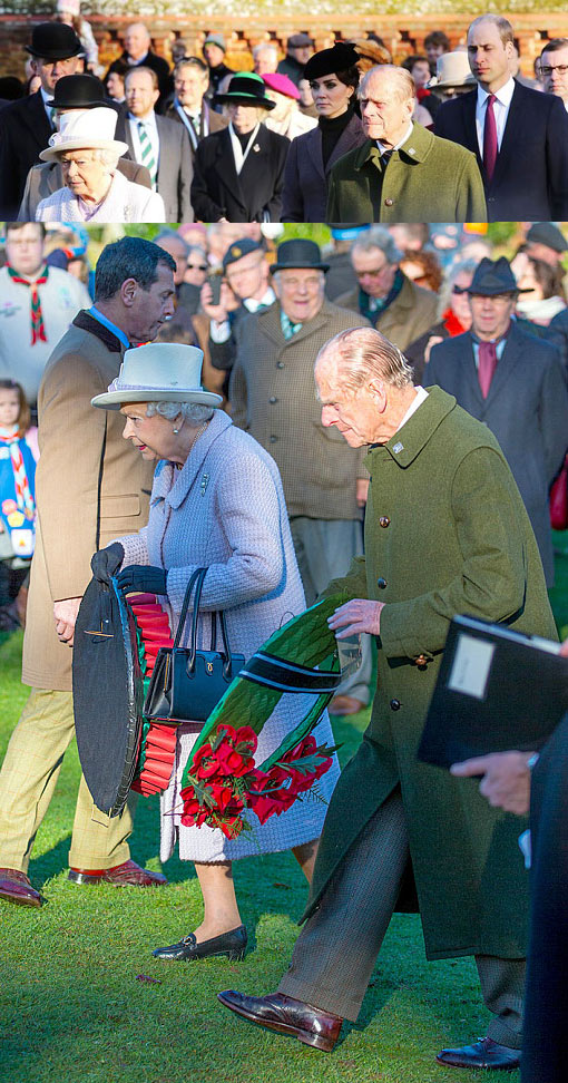 The Queen and Duke of Edinburgh with Duke and Duchess of Cambridge at 100th anniversary of Gallipoli campaign