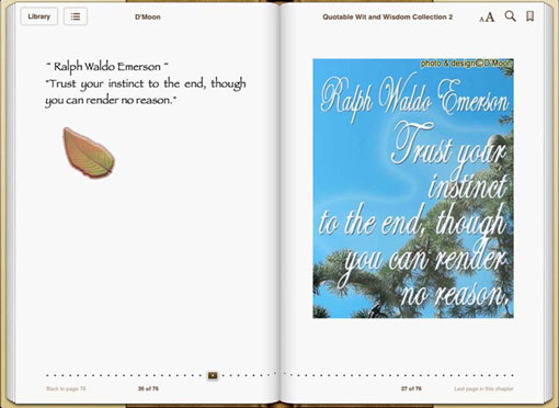 Quotable Wit and Wisdom Collection 2 sample page