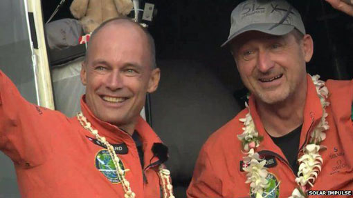 Bertrand Piccard and Andre Borschberg want to take Solar Impulse around the world