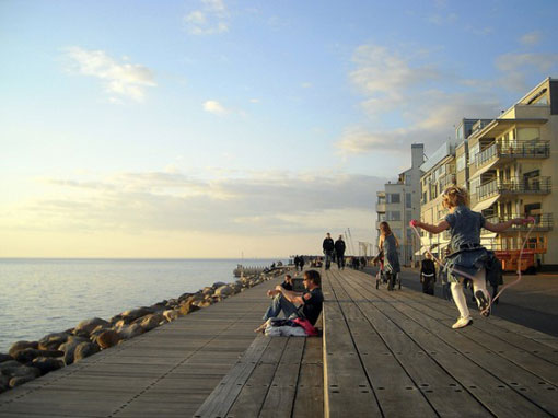 The Western Harbour neighborhood in Malmö, Sweden, has led strides in sustainability.