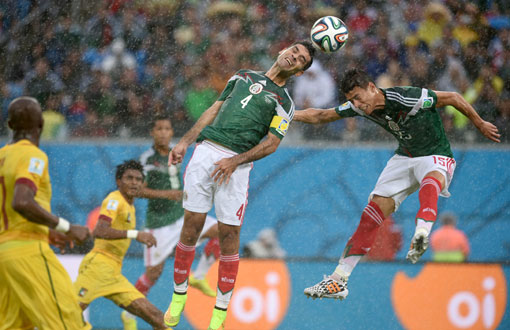 World Cup 2014 Mexico vs. Cameroon