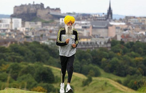 101-year-old marathoner Fauja Singh