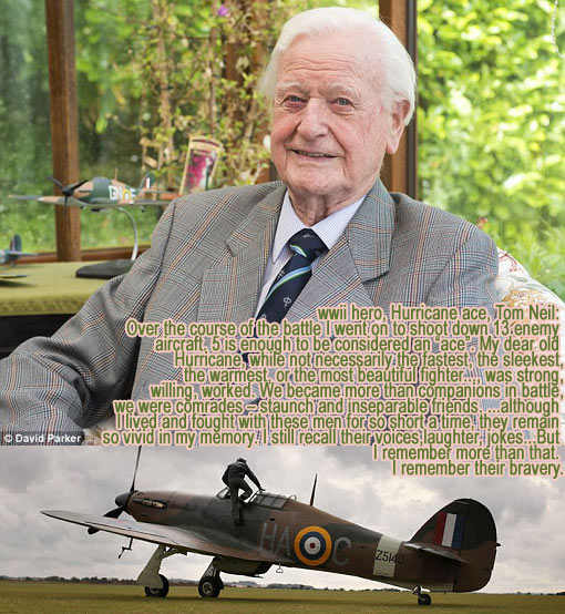 surviving World War 2 hero Battle of Britain ace pilot