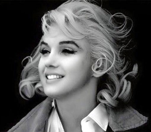 Marilyn smiles
