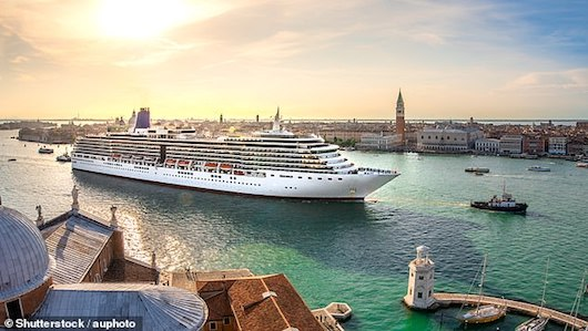 Call for Venice to be put on UN's endangered cities list after a towering cruise ship collided with a dock