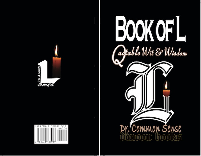 """Book of L"", paperback release, Pi Day 2019; hardcover release, 2018"