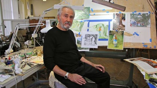 "Charles Santore (1935 – 2019), illustrator of children's books, fairy tales, poetry and history (""Columbo"", ""The Wizard of Oz"", ""The Tale of Peter Rabbit"", ""Paul Revere's Ride"", Grimm fairytales and Aesop's fables)"
