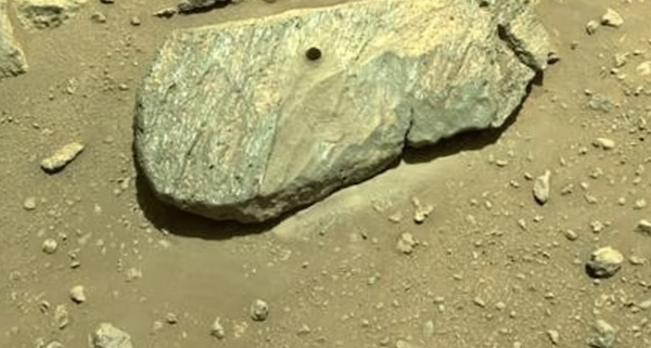 """""""I've got it!"""" NASA's Perseverance rover collects its first Mars rock sample 190 days into mission, historic step ahead of plan to return it to Earth within a decade"""