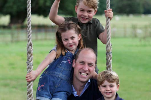"Happy Father's Day. Prince William: ""It's one of the most amazing moments of life, but also one of the scariest"""