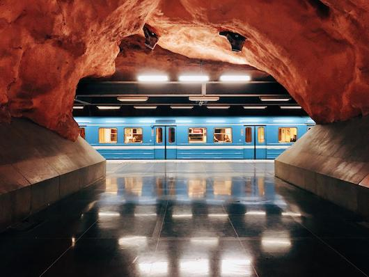 It's the journey...and the destination. Breathtaking subway lines and stations around the world