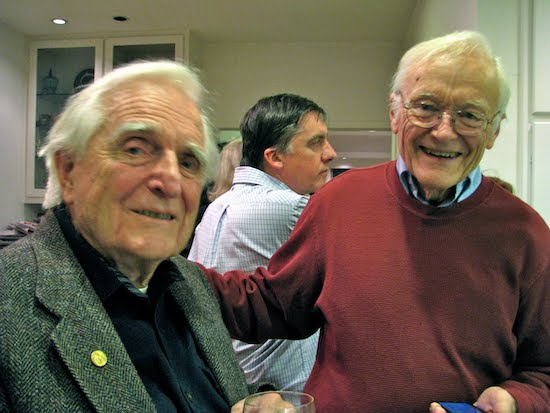 William English and Douglas Engelbart, co-creators of the computer mouse